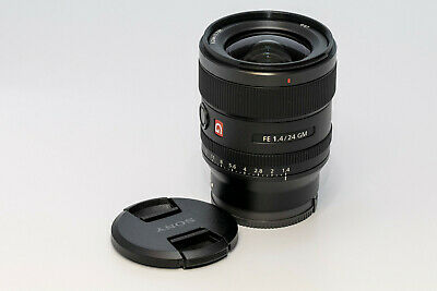 Sony SEL24F14GM FE 24mm F/1.4 GM G Lens - Excellent condition