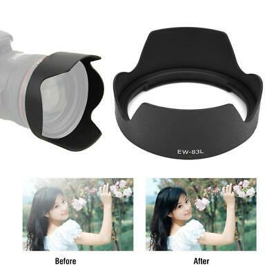 EW-83L Camera Mount Lens Hood Photograph for Canon EF 24-70mm f/4l L IS USM Lens