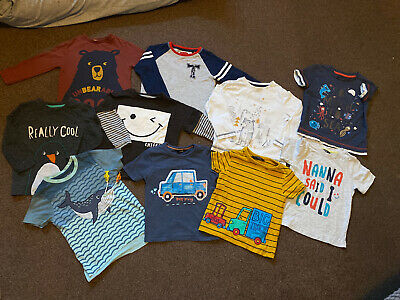 Boys 2-3 Years Long Sleeved Top And T-shirt Bundle