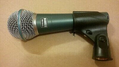 Shure BETA 58A USED TESTED Supercardioid Dynamic Microphone Mic XLR Connection