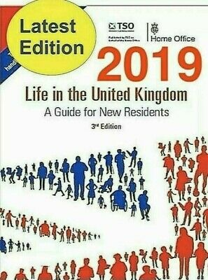 Life in the UK 3rd Edition, Valid For 2020 ***PDF + AUDIO MP3*** The Home Office
