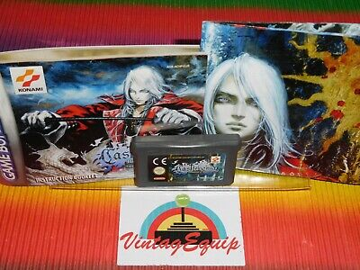 Gameboy Advance Castlevania Nintendo Gba Authentic Game Cart Agb-Achp-Eur
