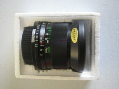 VIVITAR  Wide Angle 28 mm f 2.5 lens IN BOX NEVER USED