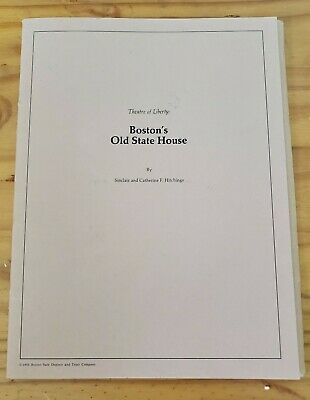 Theatre Of Liberty: Boston's Old State House Map, Photograph, Softcover Pamphlet