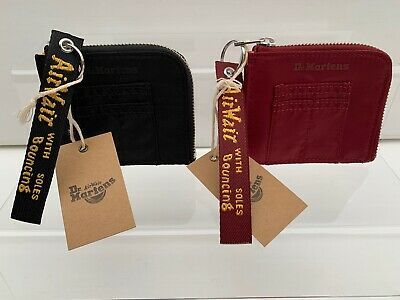 Dr Martens - AirWair Flight Nylon Wallet - Cherry Red / Black