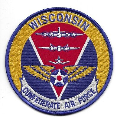 Rare - Confederate Air Force Wisconsin Squadron Patch