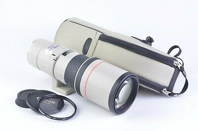 MINT- CANON EF 400mm F5.6 L USM TELEPHOTO LENS, COLLAR, CASE, CAPS, +UV, SHARP!!