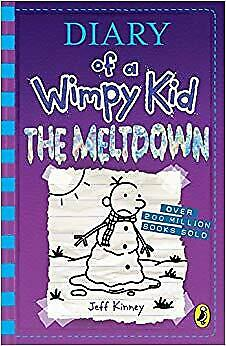 NEW Diary Of A Wimpy Kid The Meltdown Book 13 Diary Of A Wimpy Kid 13 About GIF