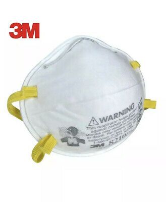 3M N95 Mask 8210 Respirator 1 PC One Single Mask