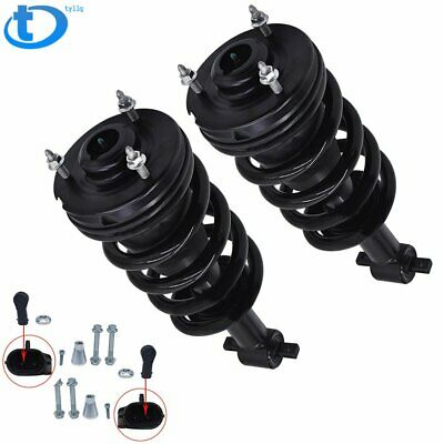 Pair Front Air Shock Strut Set For Chevy GMC Cadillac Autoride