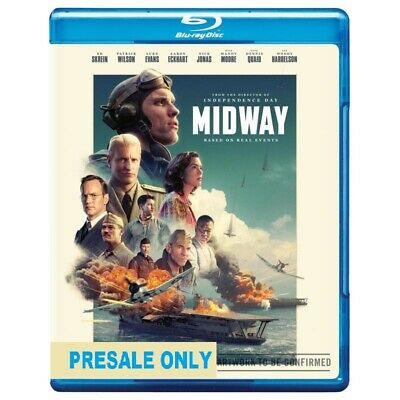 MIDWAY (Blu-Ray, 2020)RELEASE DATE 30.04.2020 -Brand New - Reg B - Pre Order