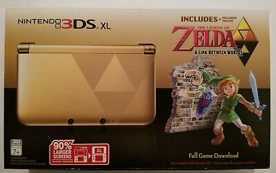 Nintendo 3DS XL Console Legend of Zelda Link Between Worlds Limited Edition NEW!