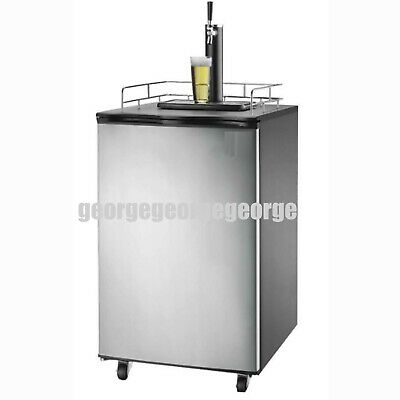 Commercial 3 Tap Beer dispenser Kegerator Commercial Brew Fridge cooler NSF
