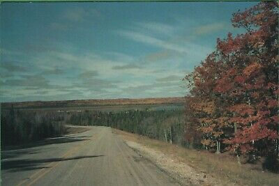 Vintage Michigan MI Postcard Hubbard Lake North of Harrisville M72