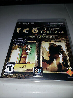 The Ico & Shadow of the Colossus -- Limited Edition (Sony PlayStation 3, 2011) -