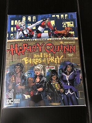 DC Black Label Comics Harley Quinn Birds Of Prey #1 A CVR 2020 CASE FRESH NM