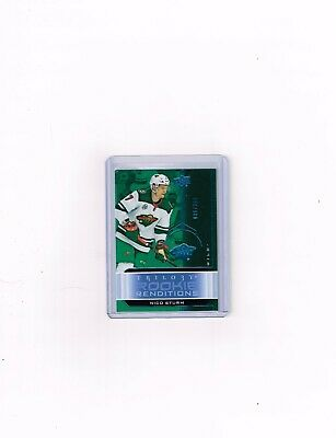 2019-20 Ud Trilogy Hockey Rookie Renditions Blue Card Of Nico Sturm # Rr-16