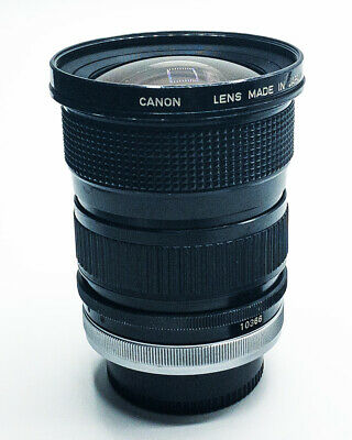Canon FD 24 - 35mm 3.5 Aspherical Zoom Lens