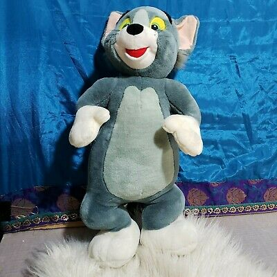 Vintage 1999 official Warner Bros Studio Store TOM from Tom & Jerry plush 22-in