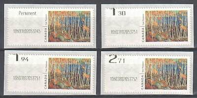 Canada Year 2020 - Mint NH -- Kiosk Stamps set with BAD Shift Variety ERROR