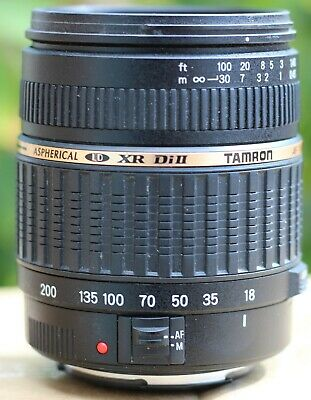 Tamron A14 18-200mm f/3.5-6.3 LD Di-II XR Aspherical AF IF Lens For Canon