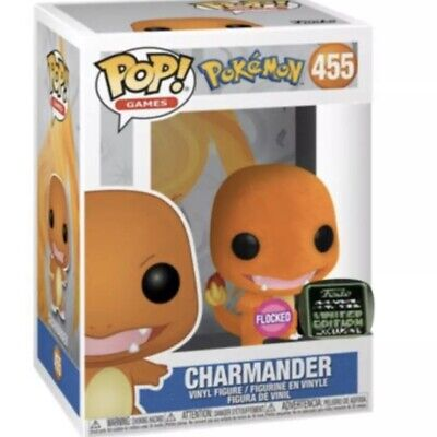 Funko ECCC 2020 Pokemon Flocked Charmander Shared Exclusive Preorder