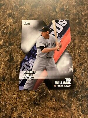 2020 Topps Series 1 Ted Williams Decades of Dominance #DOD-16 (BLACK) /299