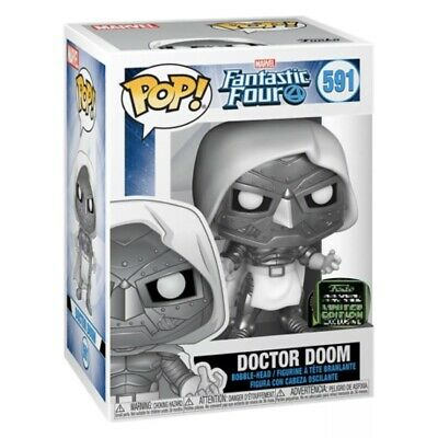 Doctor Doom - Marvel Fantastic Four Funko Pop 2020 ECCC Shared Excl Pre-Order