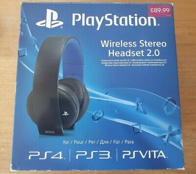 Official Sony Playstation Wireless Stereo Headset 2.0 - PS4 Gaming Headset.