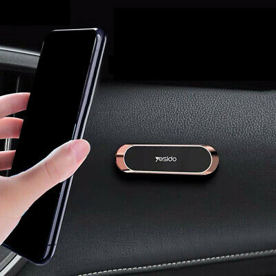Magnetic Car Phone Holder Stand For Samsung iPhone Magnet Mount Mini Strip Shape