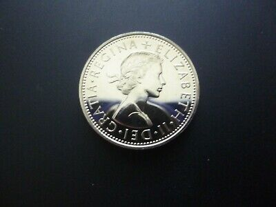 1970 Proof Two Shilling Coin The Last Two Shillings Piece Minted.