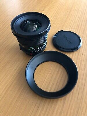 Canon FD New 20mm 1:2.8 wide angle lens