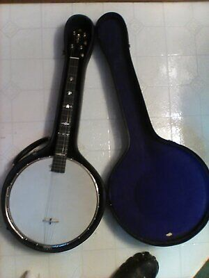 Improved George Washburn Tenor Banjo Model 1735  Presentation ☆RARE BANJO☆
