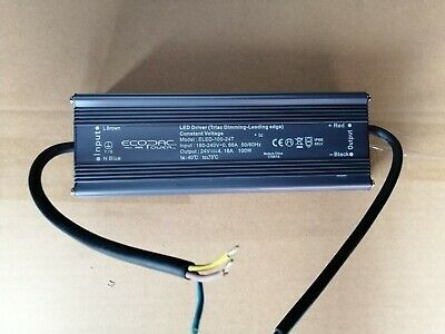 Ecopac ELED-100-24T IP66 100w LED Driver 24V DC Triac Dimming Leading Edge (B2)
