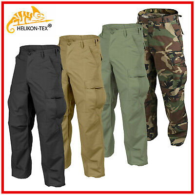 HELIKON TEX BDU Mens Trousers Pants Genuine US Cargo Combat Tactical Army Work