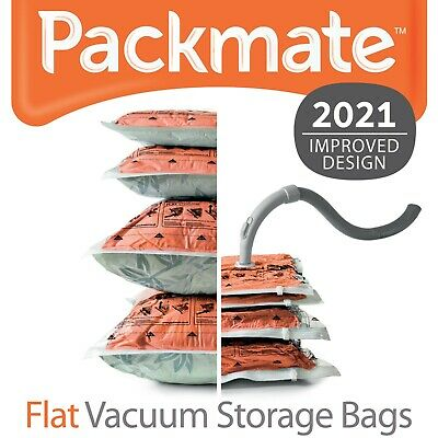 PackMate Flat Vacuum Storage Bags - Clothing, Bedding, Cushions/Pillows