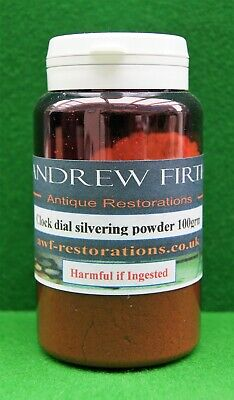 Antique Clock Dial Silvering Powder 100g for Longcase/barometer dials Bestseller