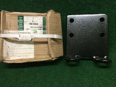 Genuine Land Rover Defender & Wolf - Nato Tow Hitch Back Plate - KNK500030