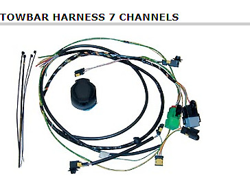 Genuine Towbar Harness 7 Pin Part Number 942805