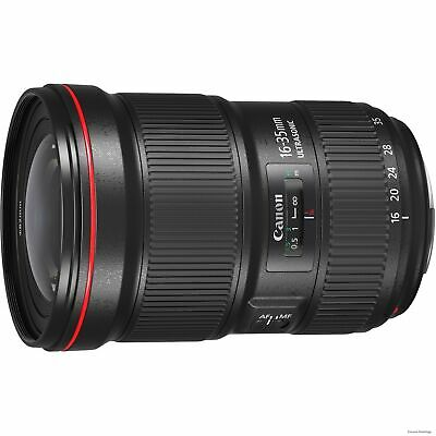 Canon - 16 mm to 35 mm - f/2.8 - Ultra Wide Angle Zoom Lens for Canon 0573C002