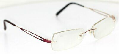 FLAIR 984 col.440 Rot & Gold Brille glasses FASSUNG  Damenbrille Brillengestell