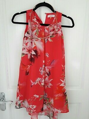 Ted Baker Hummingbird Girls Dress Size 7 Years Old