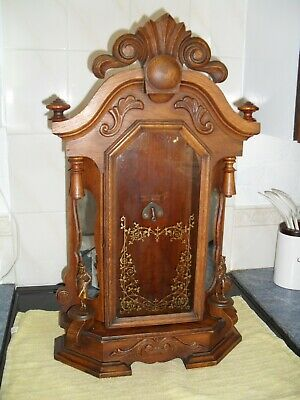 Very Good American Parlour Clock Case And Parts.