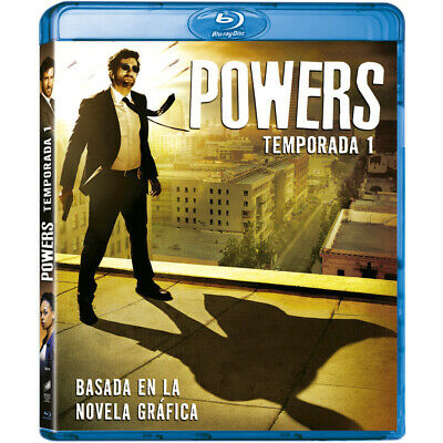 Pelicula Bluray Serie Tv Powers Temporada 1 Precintada