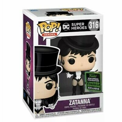 Zatanna - DC Comics Super Heroes Funko Pop 2020 ECCC Exclusive Shared Preorder