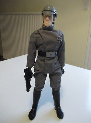 """Star Wars Imperial Officer Poupee 12"""" - Hasbro 2002"""