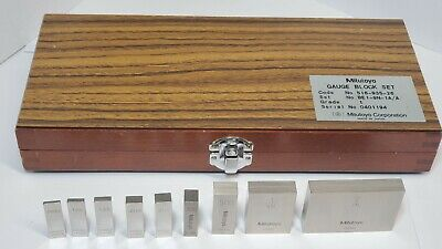 Mitutoyo No. 516-935-26 gage block set - BE1-9N-1A/A - grade 1