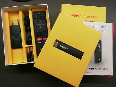 Now tv smart stick NUOVA senza ticket