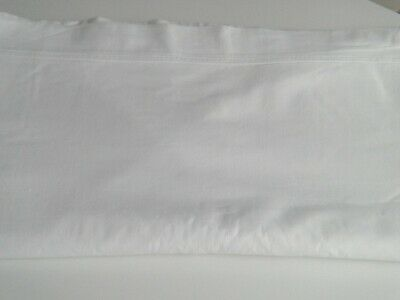 Vintage single Flat Bed Sheet in 100% cotton Very good condition
