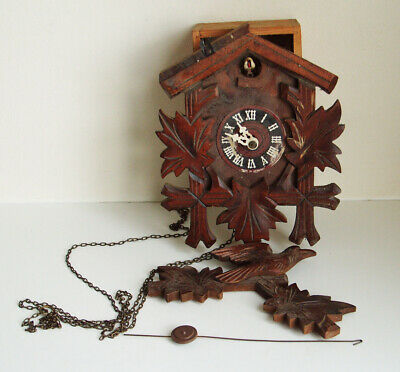 Vintage Helmut Kammerer  Cuckoo clock For Spares Repair